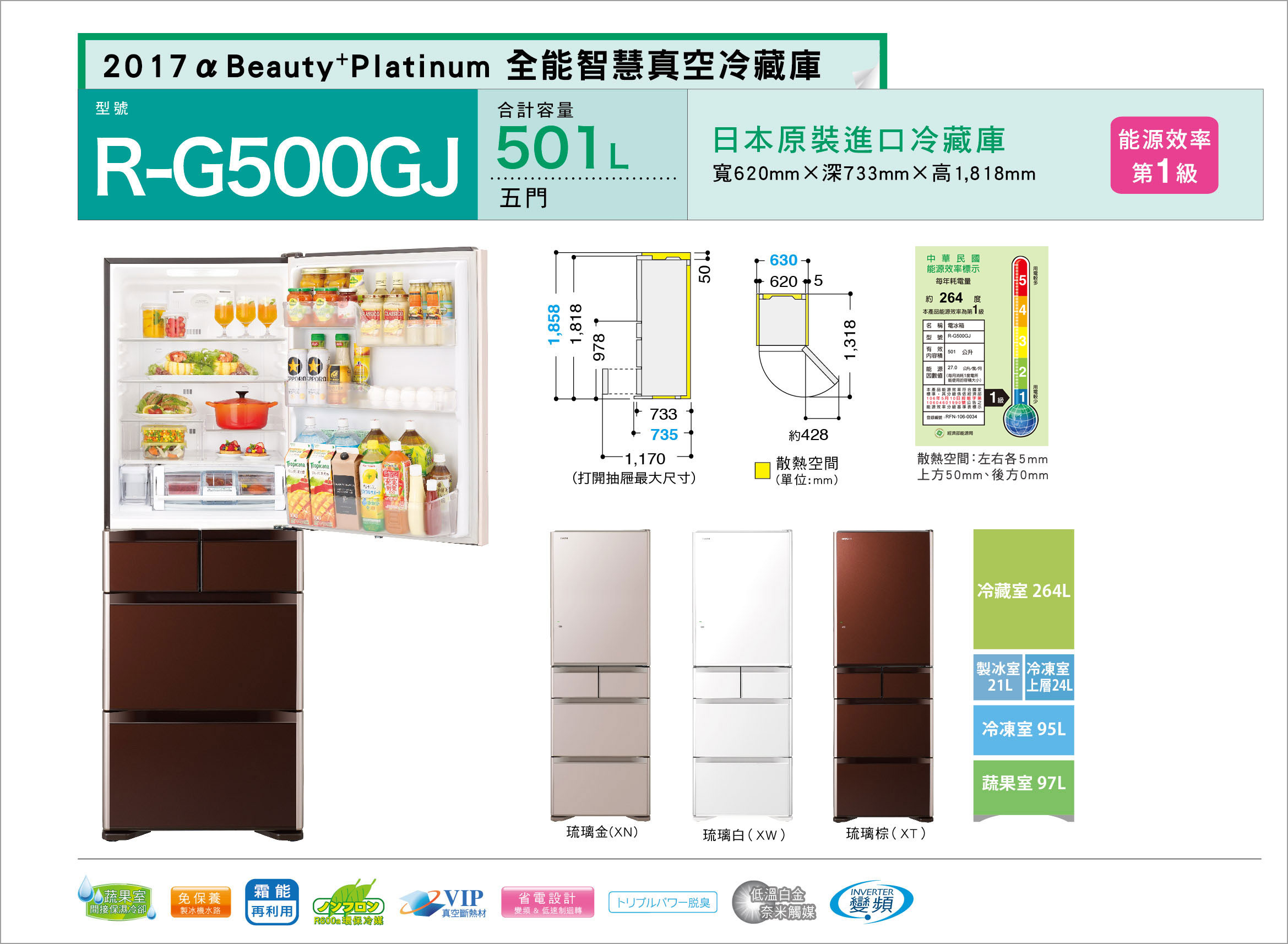 五門琉璃 RG500GJ
