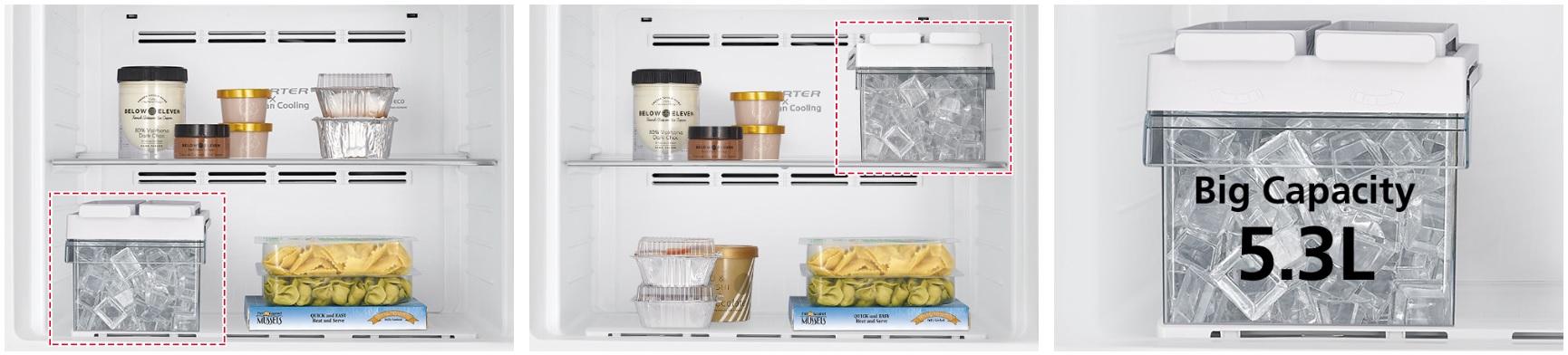 可移動式(5.3L大容量)製冰盒