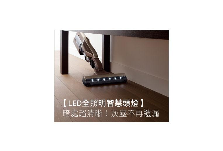 LED全照明智慧頭燈,灰塵不遺漏