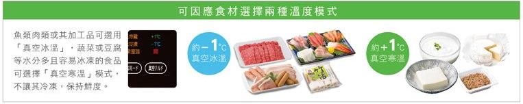 為不同的食材保持最適溫度